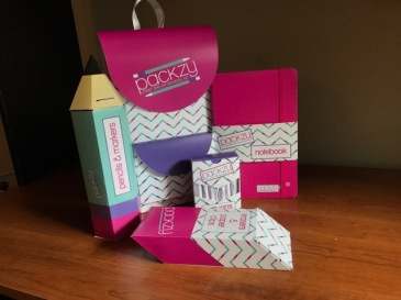 Packzy - First Day of School Kit Packaging