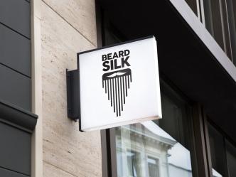 Beard Silk Store Sign