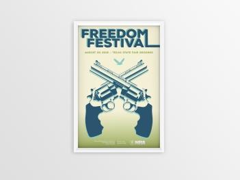 Freedom Festival Poster